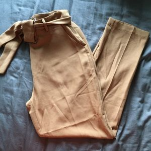 Forever 21 Contemporary Paper Bag Pants